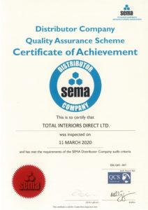 SEMA Audit Certificate