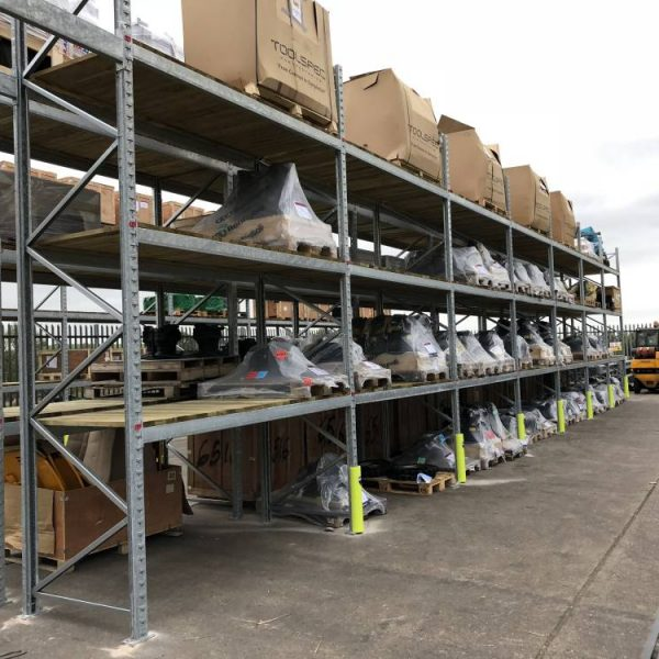 JCB Outdoor Pallet Racking