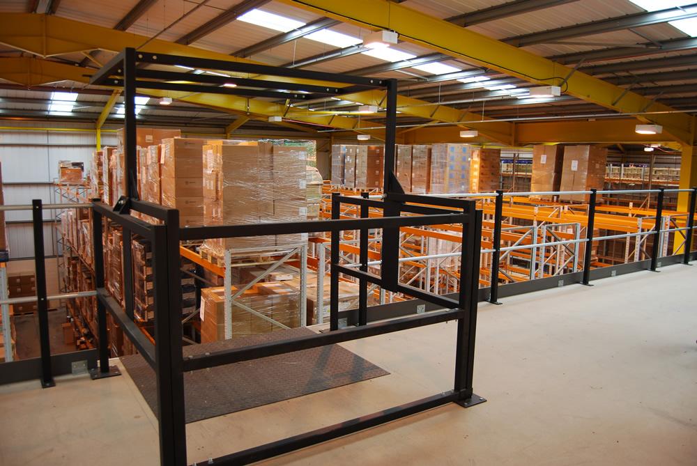 Mezzanine Floor | Industrial Interiors