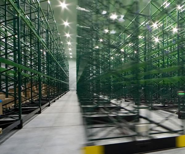 Mobile Racking Warehouse