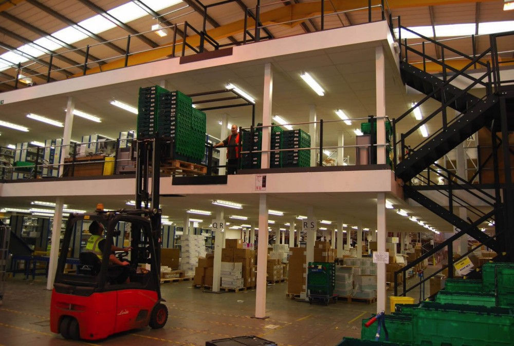 Mezzanine Flooring Spires | Spire Healthcare