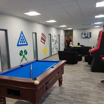 Total Interior Staff Facilities