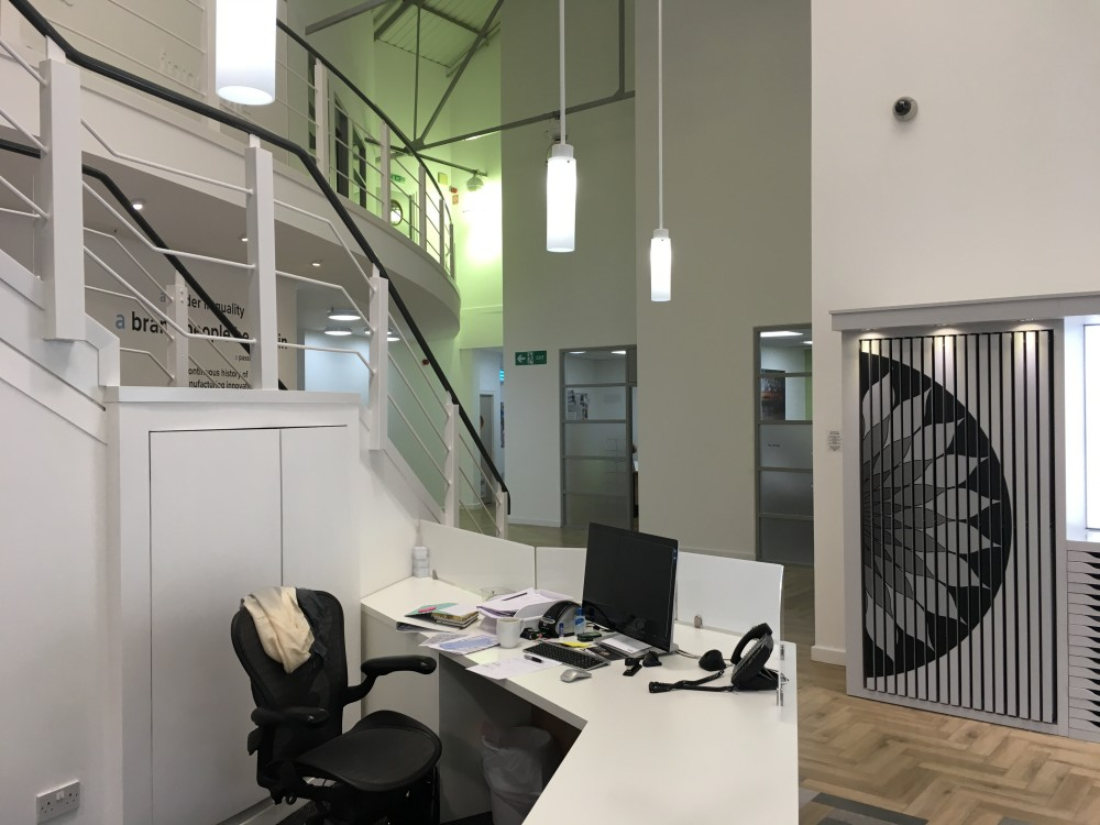 Office Interiors | Office Reception