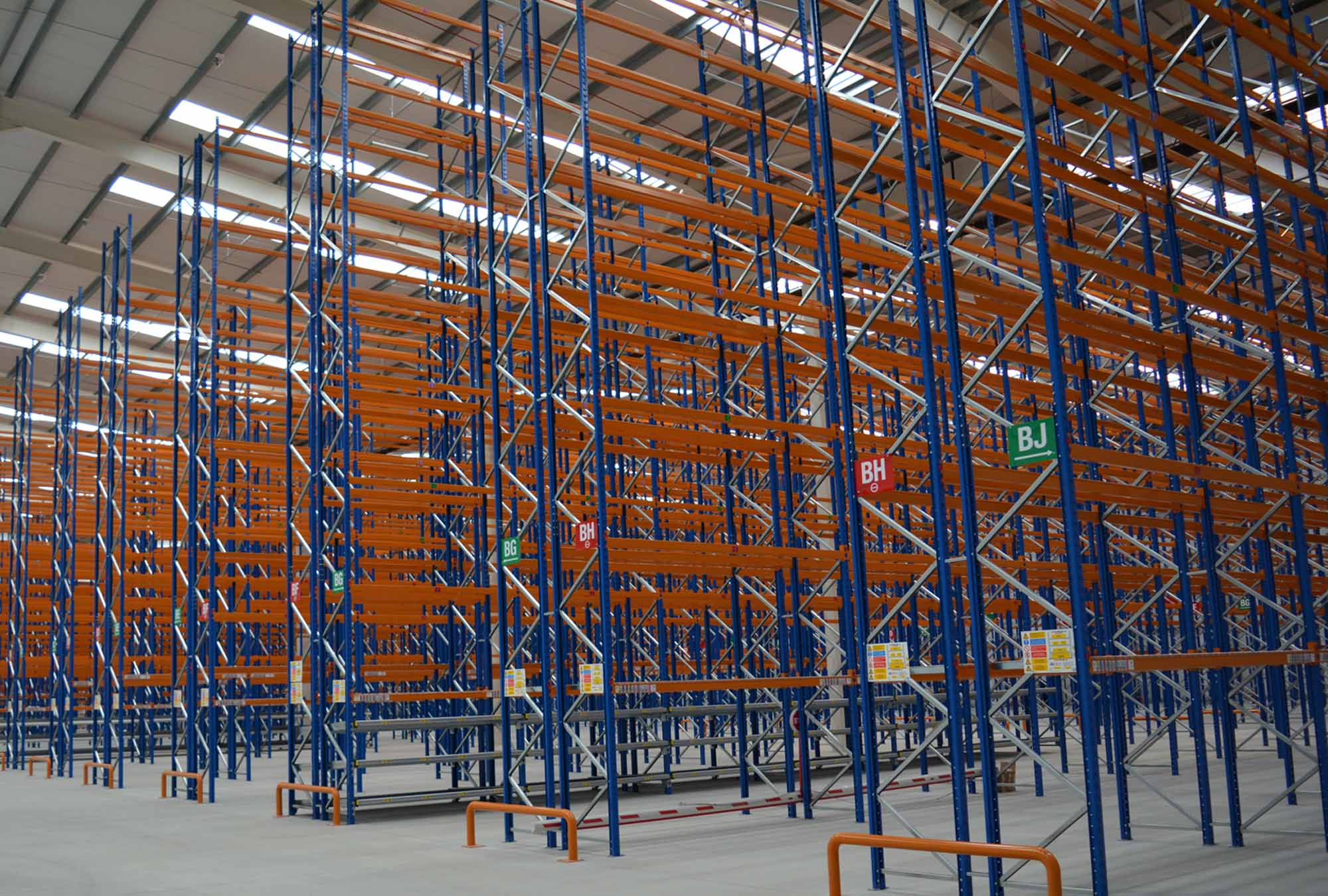 Warehouse Storage Solutions - Pallet Racking