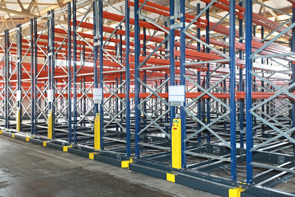 Mobile Warehouse Storage