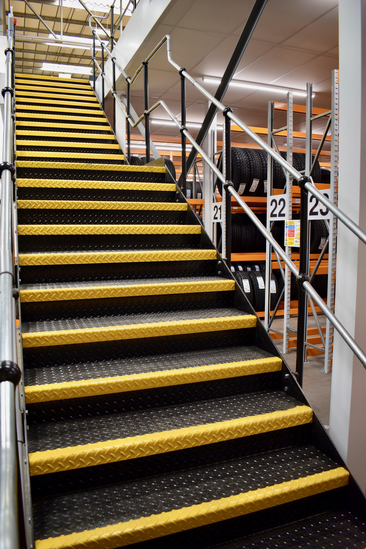 Stairway to Mezzanine floor