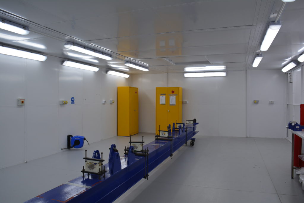 Industrial fitout interior
