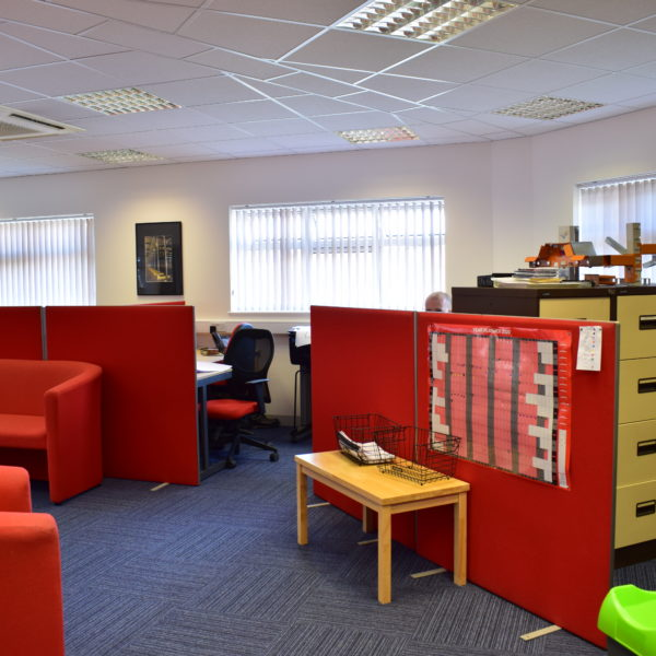Total interiors office layout