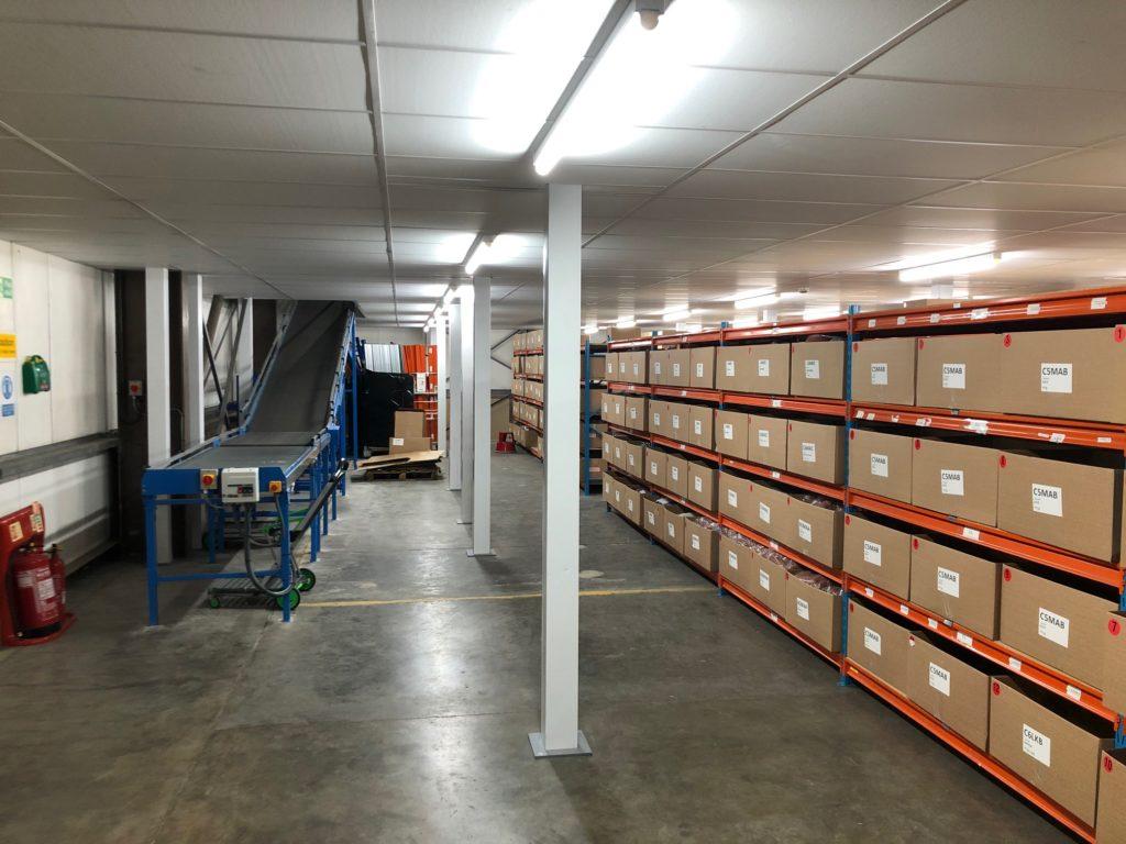e-commerce warehouse